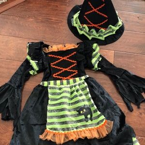 Witch costume.